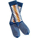 Richer Poorer Fighter Sock - Blue
