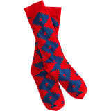 Richer Poorer Hunter Sock - Red
