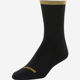 Sock Liner Crew Black Lightweight