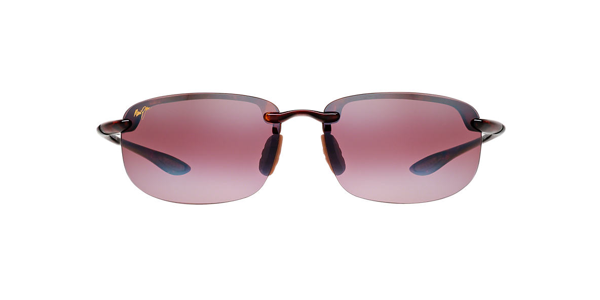 MAUI JIM Tortoise 407 HOOKIPA Pink polarized lenses 64mm