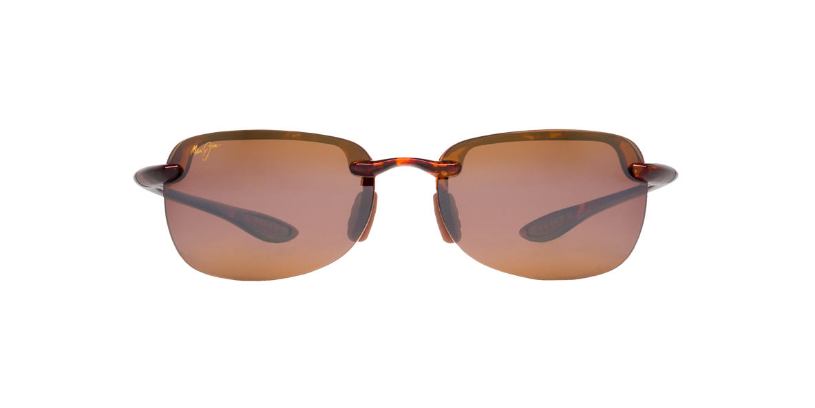 MAUI JIM Tortoise 408 SANDYBEACH Bronze polarized lenses 56mm
