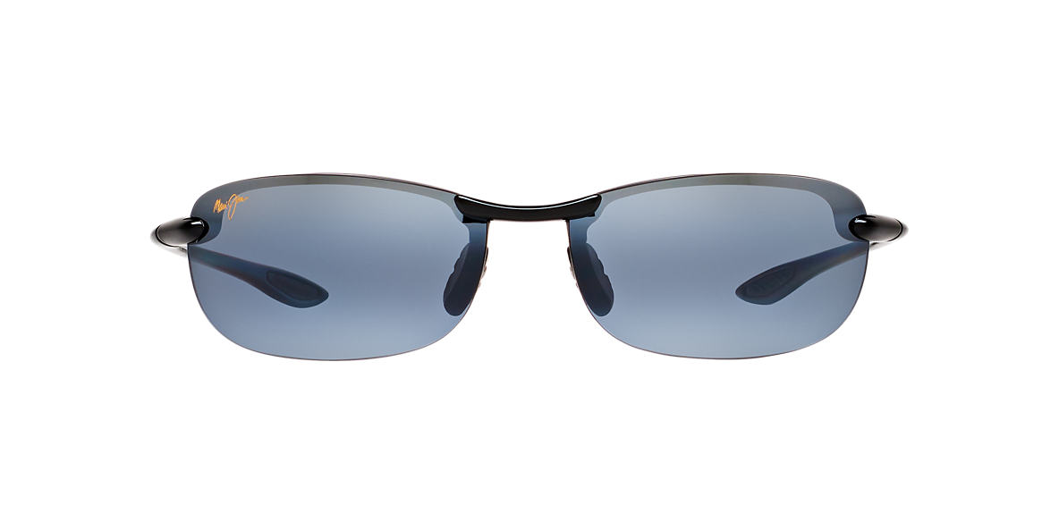 MAUI JIM Black 405 MAKAHA Grey polarized lenses 65mm