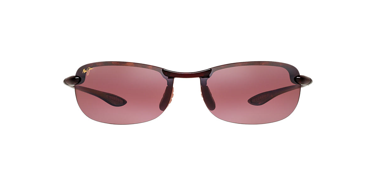 MAUI JIM Brown 405 MAKAHA Pink polarized lenses 60mm