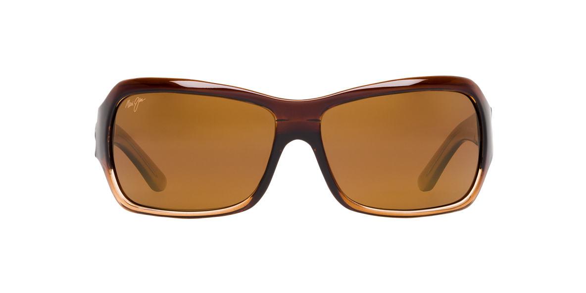 MAUI JIM Brown MJ 111 Brown polarised lenses 63mm