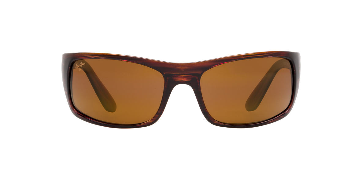 MAUI JIM Brown 202 PEAHI Brown polarized lenses 66mm