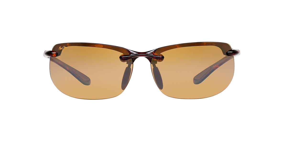 MAUI JIM Tortoise 412 BANYANS Brown polarized lenses 67mm