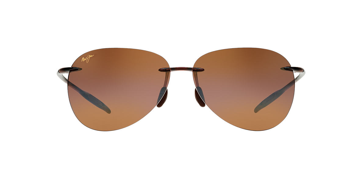 MAUI JIM Brown 421 SUGAR BEACH Bronze polarized lenses 62mm