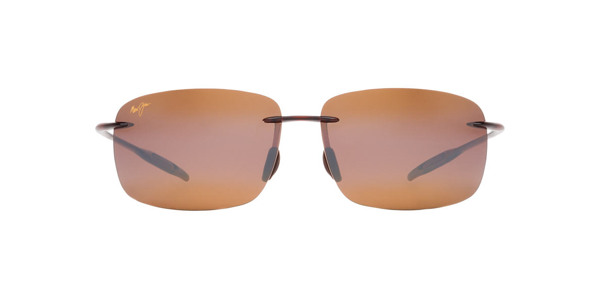 MAUI JIM Brown 422 BREAKWALL Bronze polarized lenses 63mm