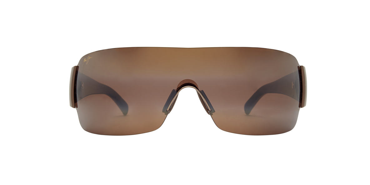 MAUI JIM Brown MJ 520 Bronze polarised lenses 13mm