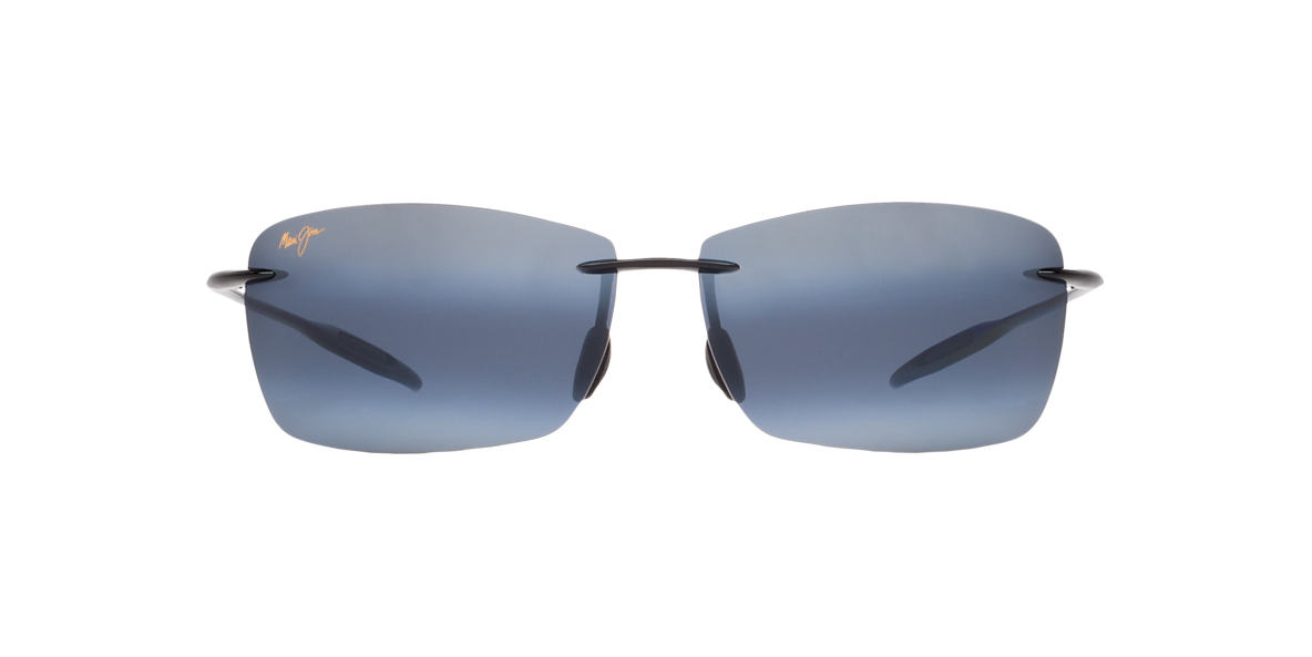 MAUI JIM Black 423 LIGHTHOUSE Grey polarized lenses 65mm