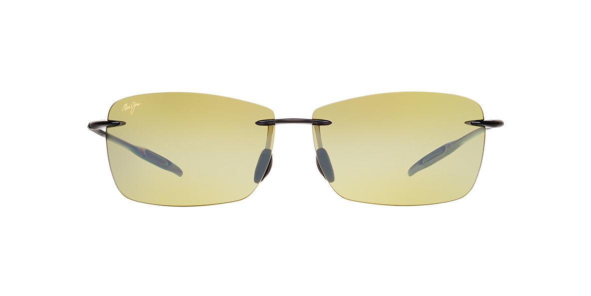 MAUI JIM Grey 423 LIGHTHOUSE Green polarized lenses 65mm