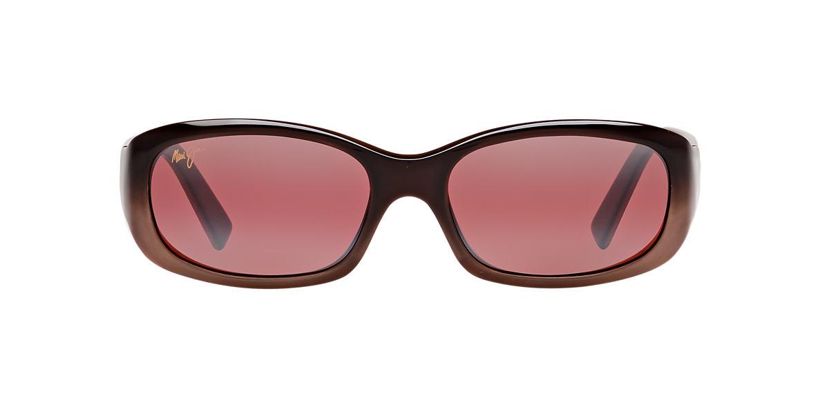 MAUI JIM Brown 219 PUNCHBOWL Pink polarized lenses 54mm