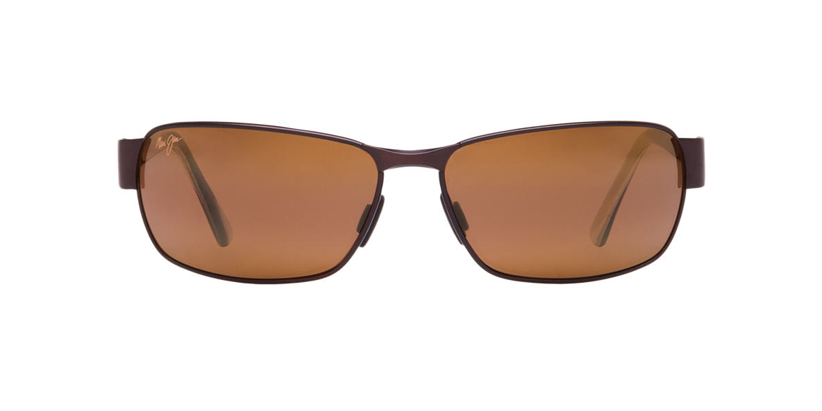 MAUI JIM Black Matte 249 BLACK CORAL Bronze polarized lenses 65mm