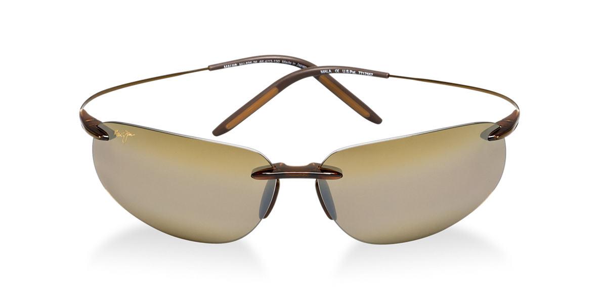 MAUI JIM  H525-26 MALA Bronze polarized lenses 65mm