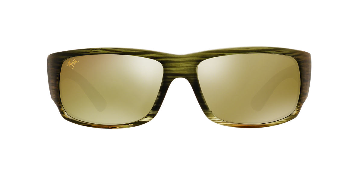 MAUI JIM Green 266 WORLD CUP Green polarized lenses 64mm