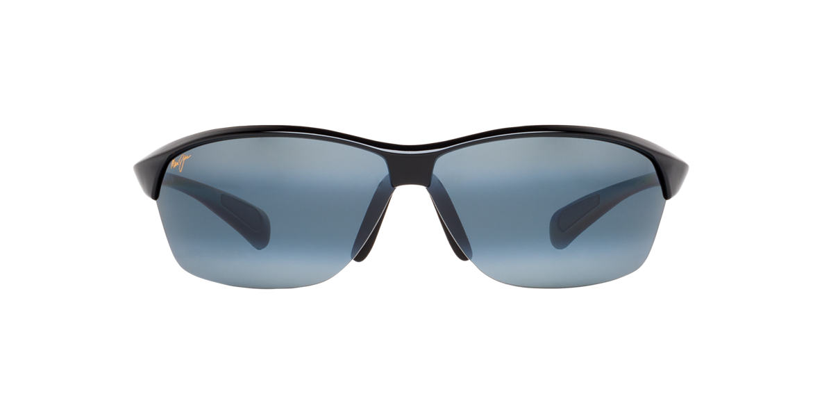 MAUI JIM Black 526 HOT SANDS Grey polarized lenses 71mm