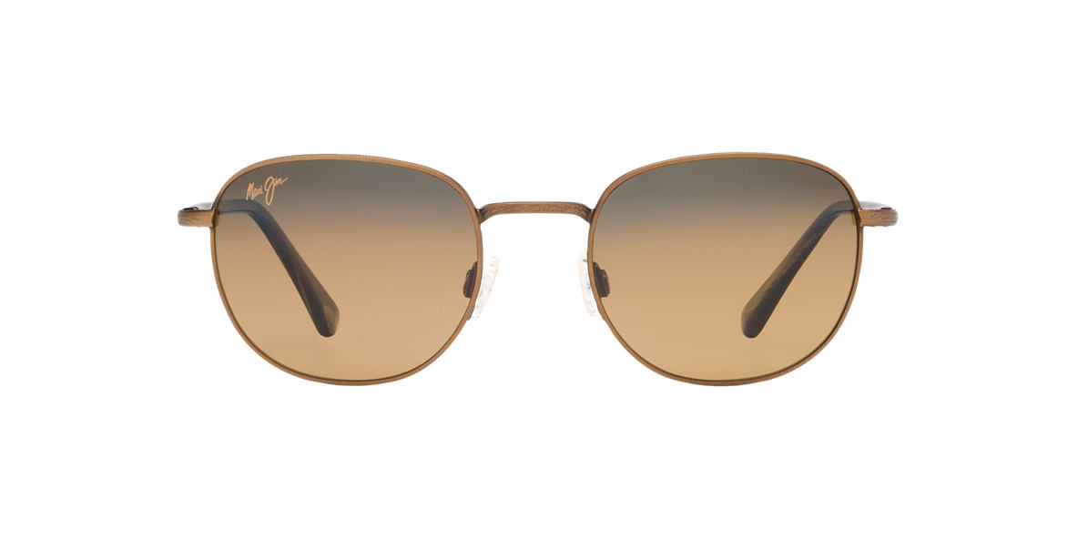 MAUI JIM Gold 292 HANA HOU Bronze polarized lenses 51mm