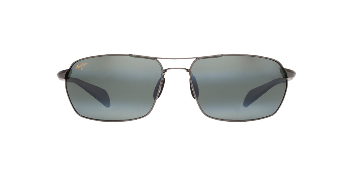 MAUI JIM Gunmetal 324 MALIKO GULCH Grey polarized lenses 65mm