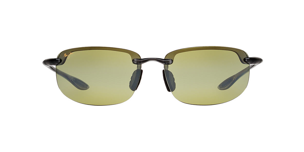 MAUI JIM Grey 407 HOOKIPA 64 Green polarized lenses 64mm