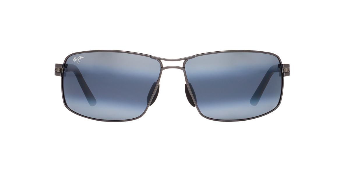 MAUI JIM Gunmetal 276 MANU Grey polarized lenses 64mm