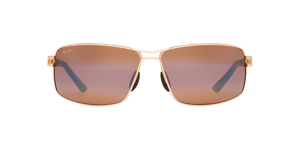 MAUI JIM Gold 276 MANU Bronze polarized lenses 64mm