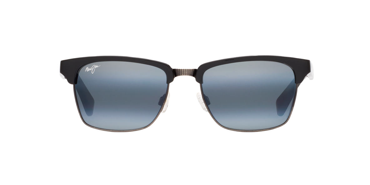 MAUI JIM Black Shiny 257 KAWIKA Grey polarized lenses 54mm