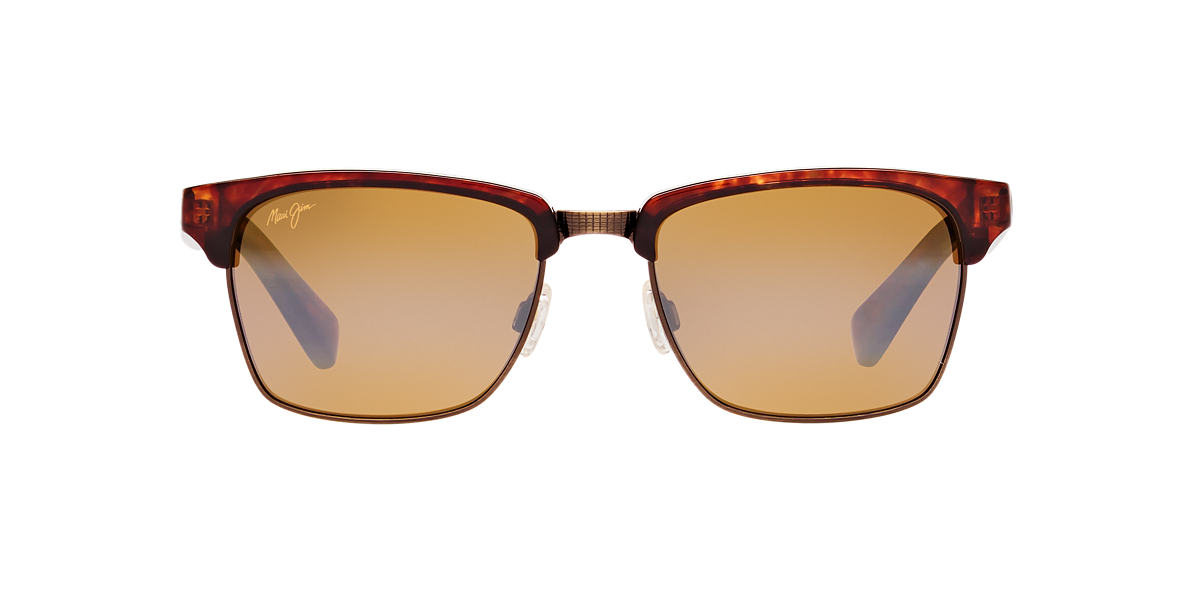 MAUI JIM Tortoise 257 KAWIKA Bronze polarized lenses 54mm