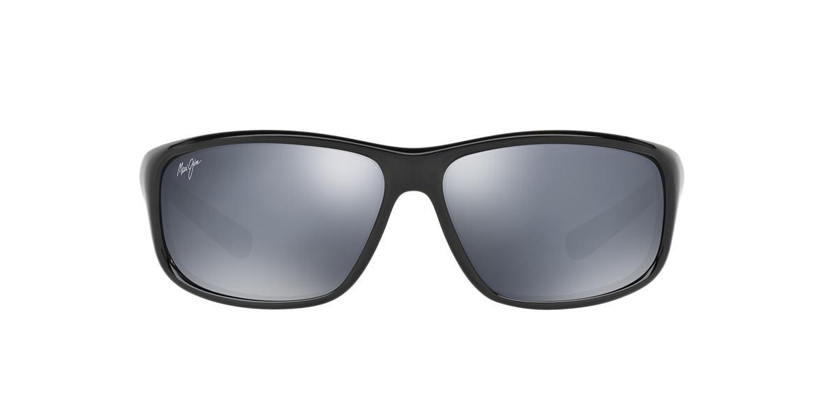 MAUI JIM Black 278 SPARTAN REEF Grey polarized lenses 64mm