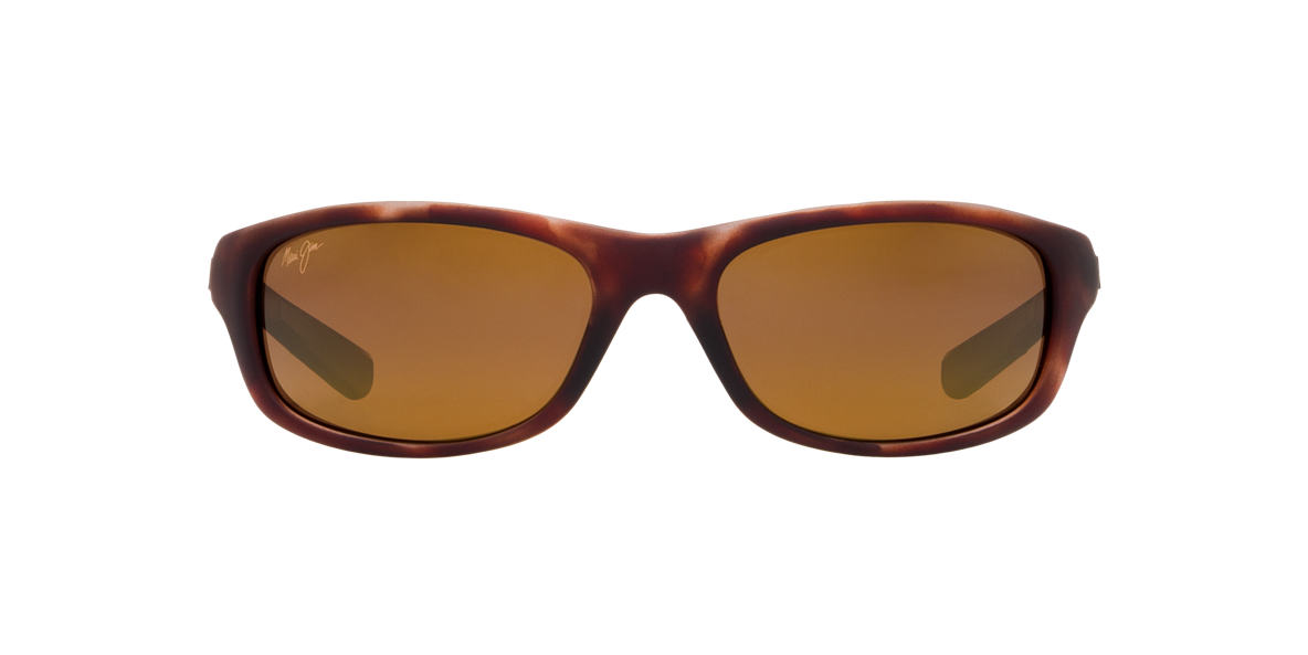 MAUI JIM Tortoise Matte 279 KIPAHULU Bronze polarized lenses 59mm