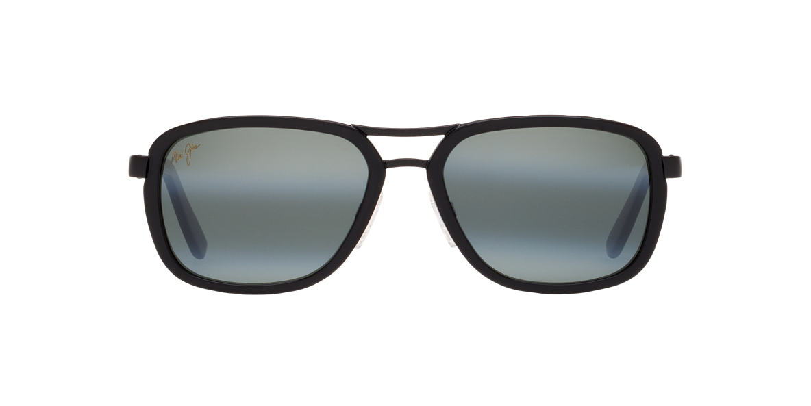 MAUI JIM Black 289 WANDERER 58 Grey polarized lenses 58mm