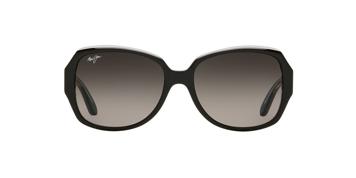 MAUI JIM Black 299 KALENA 57 Grey polarized lenses 57mm