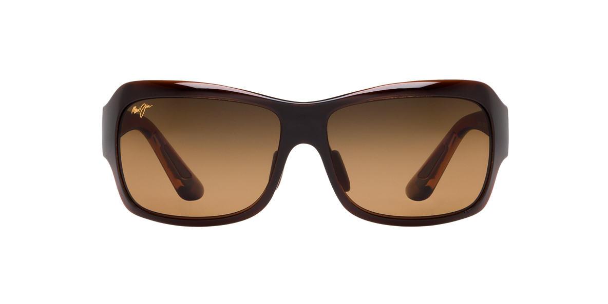 MAUI JIM Brown 418 SEVEN POOLS Bronze polarized lenses 62mm