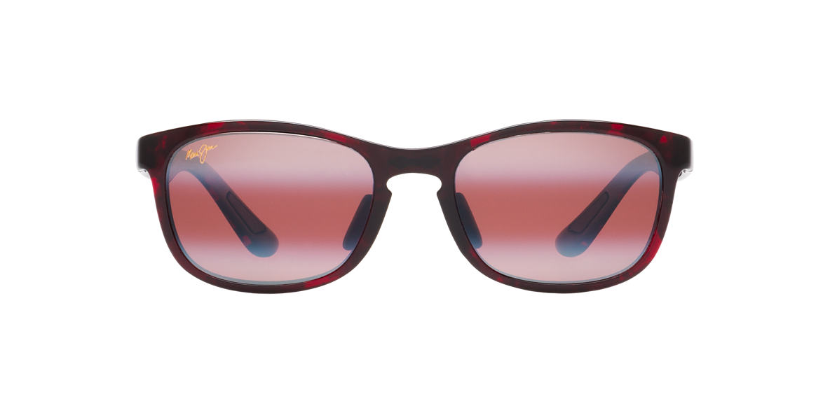 MAUI JIM Red 431 FRONT STREET Pink polarized lenses 53mm
