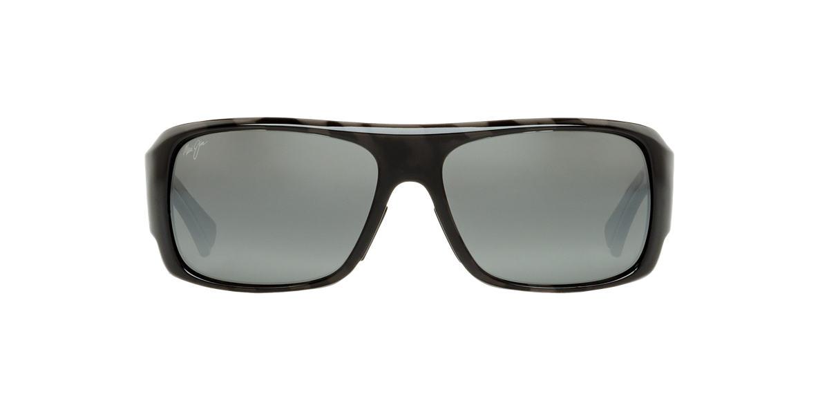 MAUI JIM Black 283 FIVE CAVES 62 Grey polarised lenses 62mm