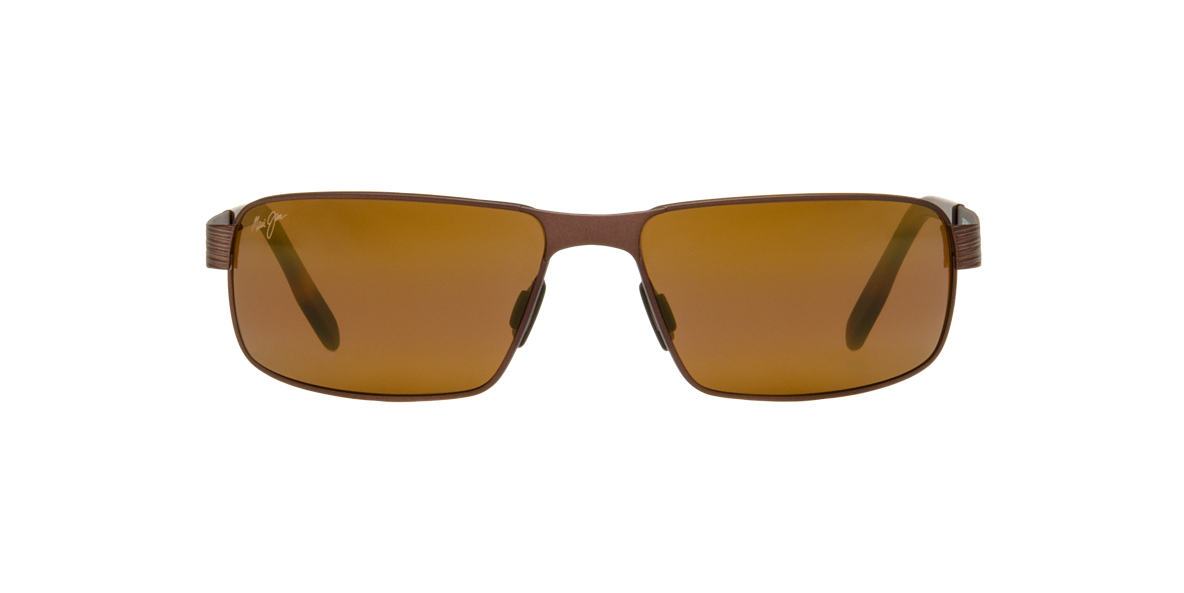 MAUI JIM Brown 187 CASTAWAY 63 Bronze polarized lenses 63mm