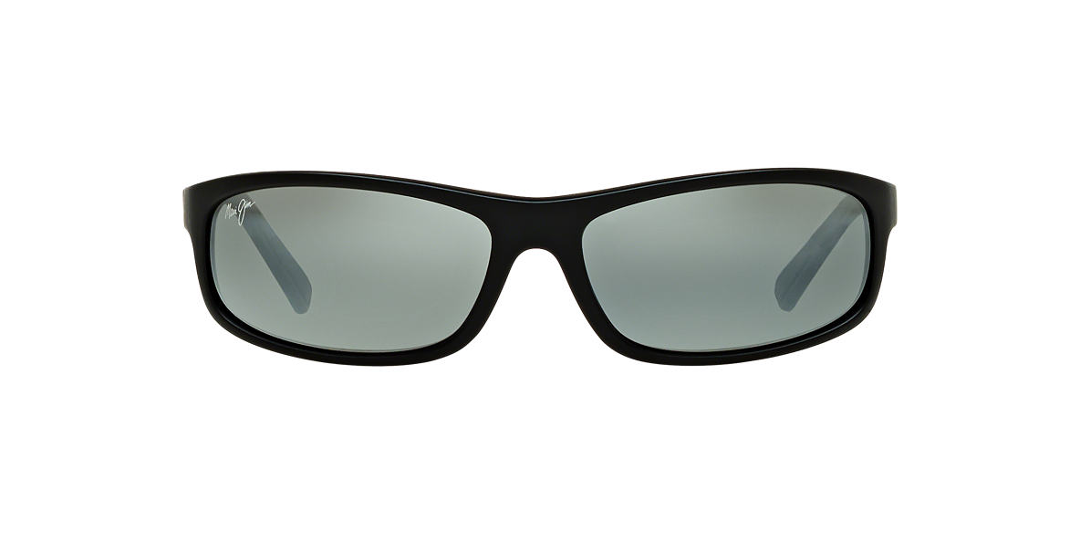 MAUI JIM Black Matte 183 LEGACY 61 Grey polarized lenses 61mm
