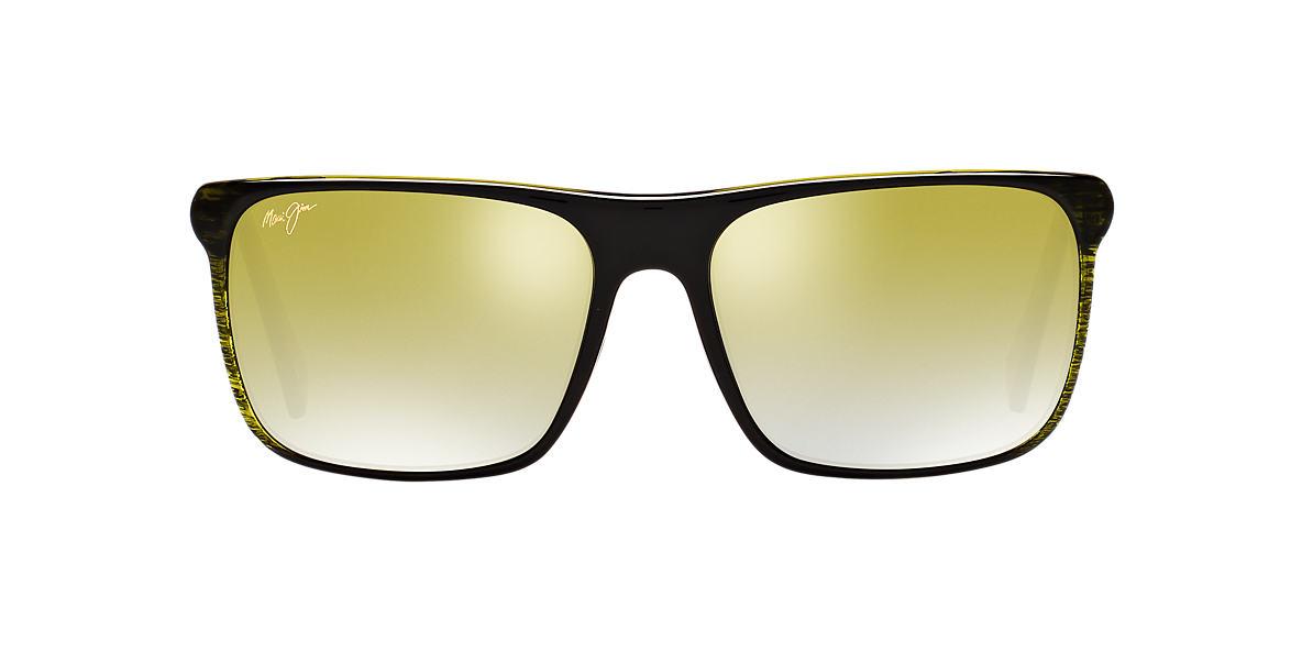 MAUI JIM Green 705 FLAT ISLAND 58 Green polarized lenses 58mm