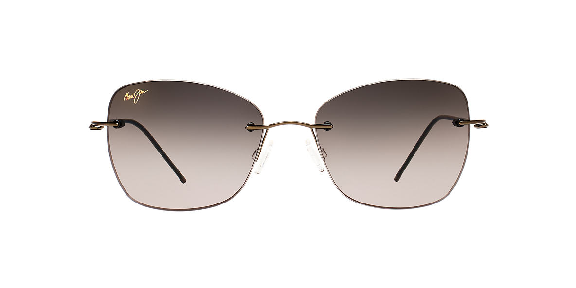 MAUI JIM Gunmetal 717 APAPANE 55 Grey lenses 55mm