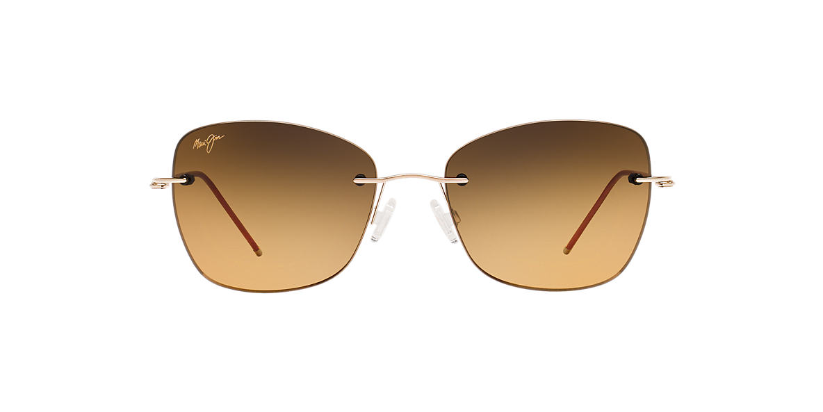 MAUI JIM Gold 717 APAPANE 55 Bronze polarized lenses 55mm