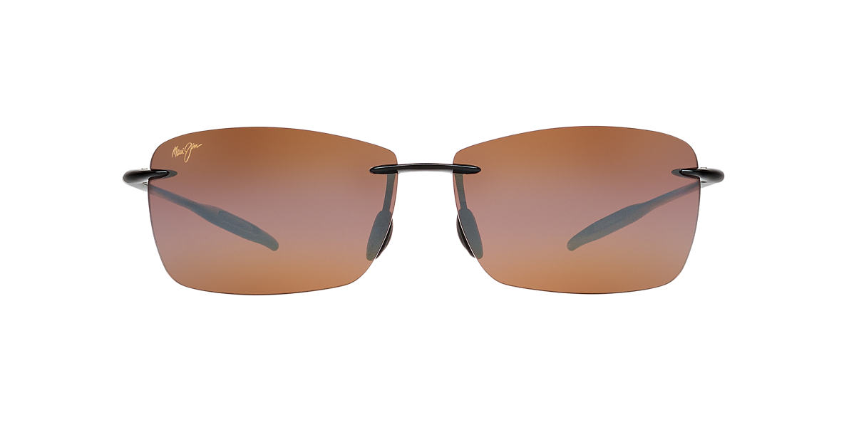 MAUI JIM Black 423 LIGHTHOUSE Bronze polarized lenses 65mm