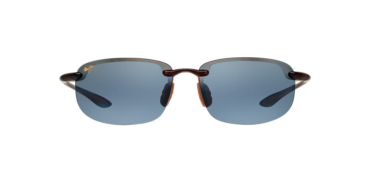 MAUI JIM Tortoise Matte 407 HOOKIPA 64 Grey polarized lenses 64mm