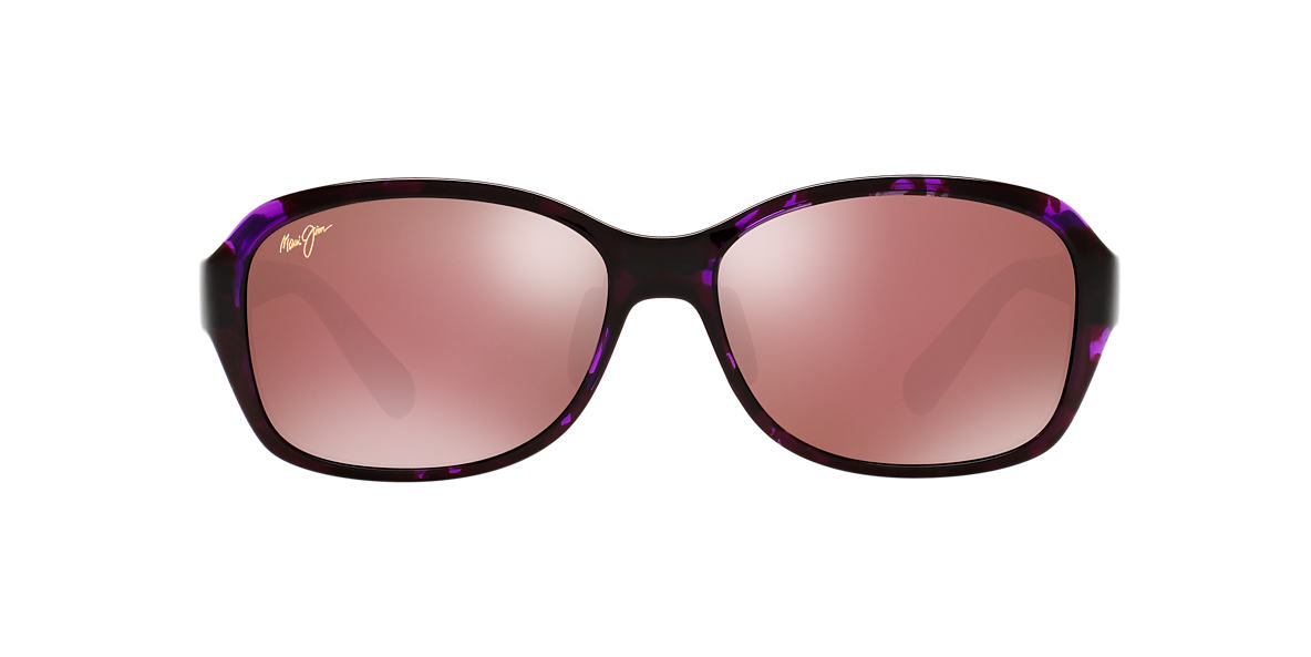 MAUI JIM Pink/Purple KOKI BEACH Pink polarised lenses 56mm