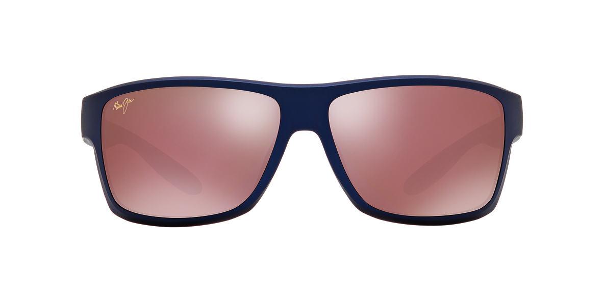 MAUI JIM Blue 528 POKAHU 62 Pink polarized lenses 62mm