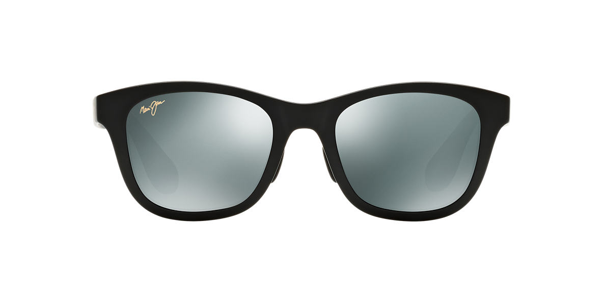 MAUI JIM Black Matte 434 HANA BAY 51 Grey polarized lenses 51mm