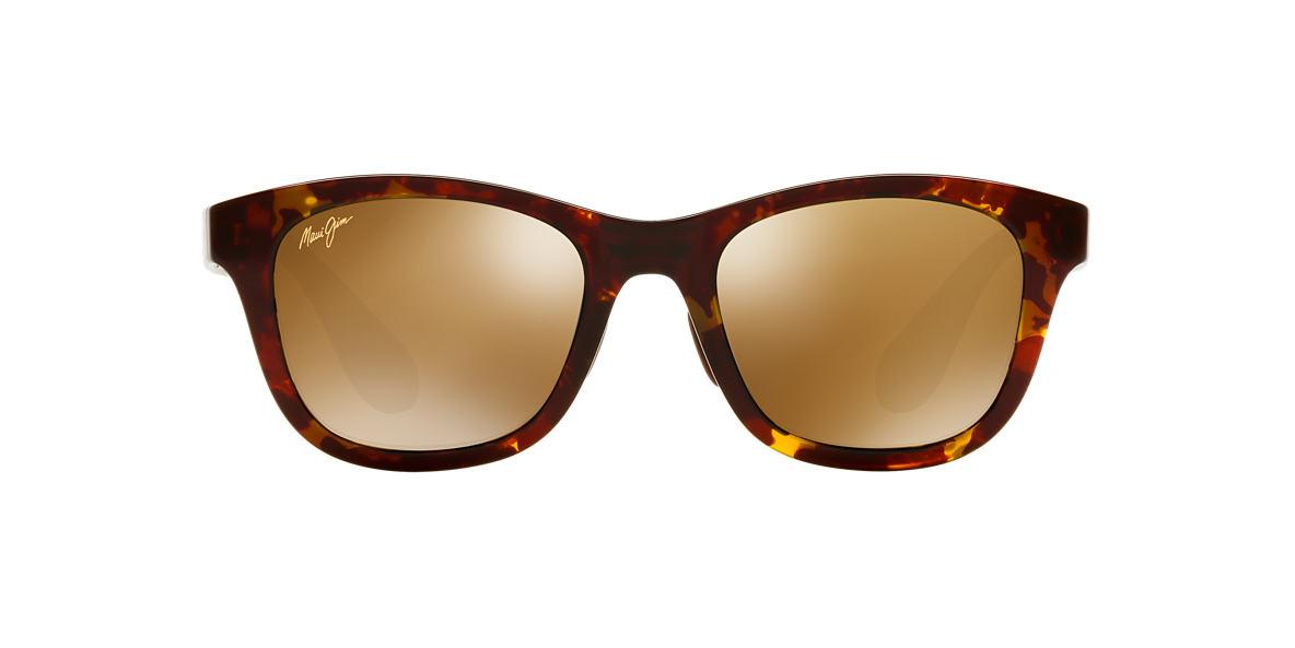 MAUI JIM Tortoise 434 HANA BAY 51 Bronze polarized lenses 51mm