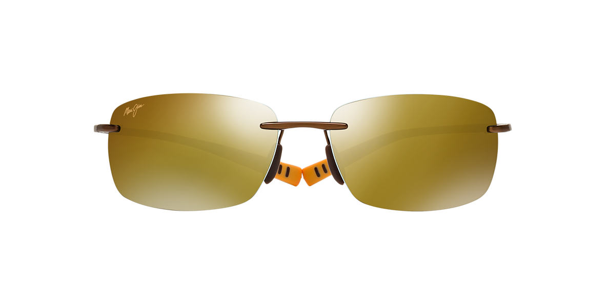 MAUI JIM Bronze 724 KUMU 64 Bronze polarized lenses 64mm