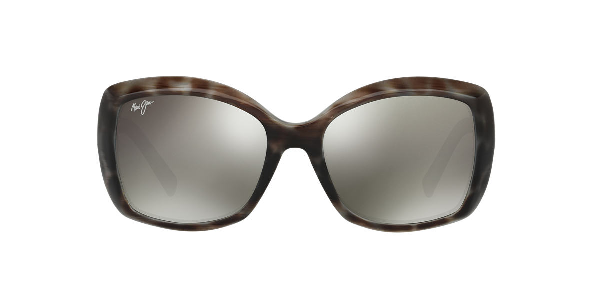 MAUI JIM Brown 735 ORCHID 56 Grey polarized lenses 56mm