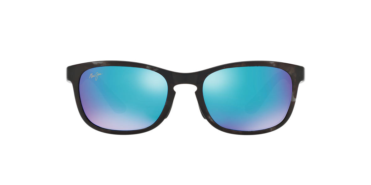 MAUI JIM Grey 431 FRONT STREET BH 53 Blue polarized lenses 53mm