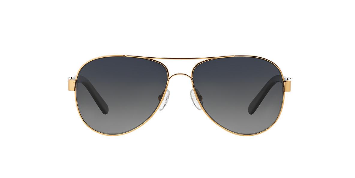 TORY BURCH Gold TY6010 (57) Grey polarized lenses 57mm