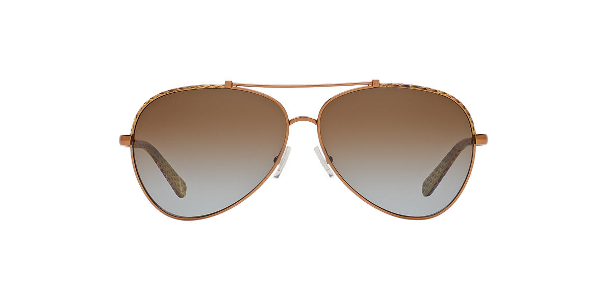 TORY BURCH Brown TY6021Q Brown polarized lenses 62mm